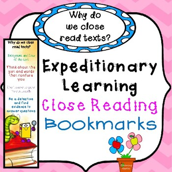 How to Close Read for Comprehension: Bookmarks: Expeditionary Learning