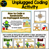 How to Code a Sandcastle: An Unplugged Coding Activity