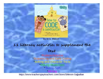 How to Code a Sandcastle Literacy Activities and Early Coding (K-3)