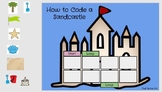 How to Code a Sandcastle Powerpoint/Google Slides Activity