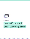 How to Compose a Great Career Question on CareerVillage.org
