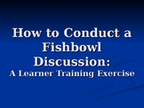 How to Conduct a Fishbowl Discussion: A Learner Training