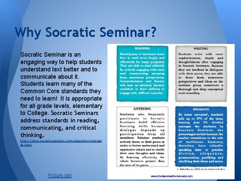 How to Conduct a Socratic Seminar