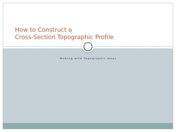 How to Construct a Cross-Section Profile