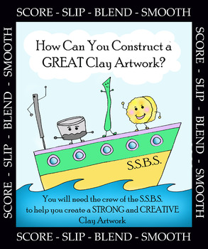 How to Construct a STRONG and CREATIVE CLAY ARTWORK: SSBS