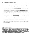 How to Construct an Argument Essay Common Core