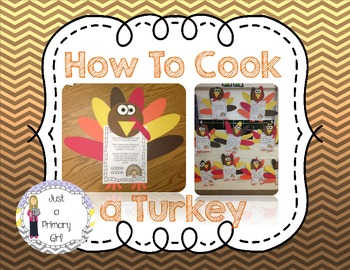 How to Cook a Turkey Craft and Thanksgiving Turkey Craft
