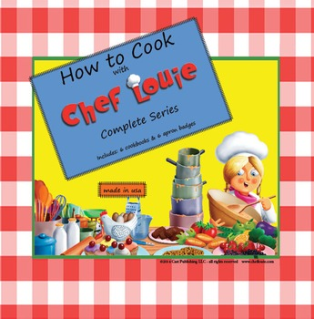 How to Cook with Chef Louie Teacher Set in Pizza Storage Box