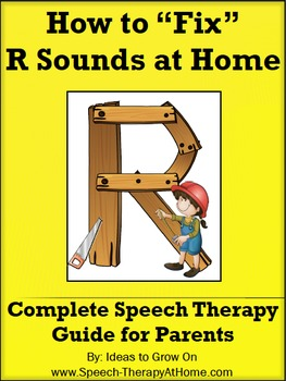 R Sounds - The Ultimate Home Speech Therapy Program.