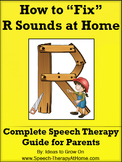 R Sounds - Home Speech Therapy Program