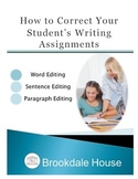 How to Correct Your Students' Writing Assignments