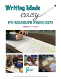 Easy to Teach 5-paragraph Opinion Essay