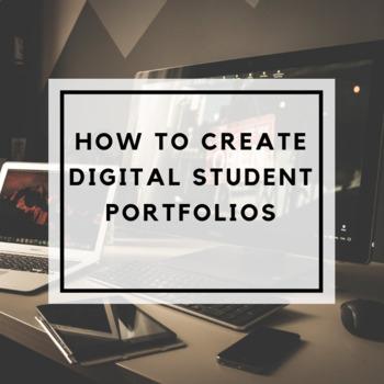 How to Create Digital Student Portfolios
