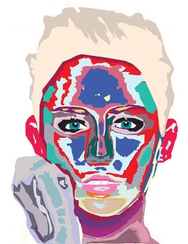 How to Create Pop Art Vector Portrait using Live Trace Adobe Illustrator