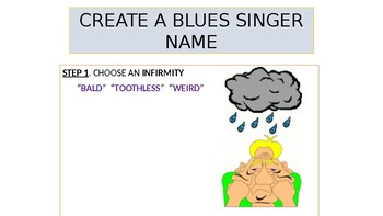 How to Create Your Blues Singer Name