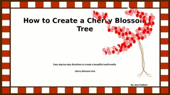 How to Create a Cherry Blossom Tree