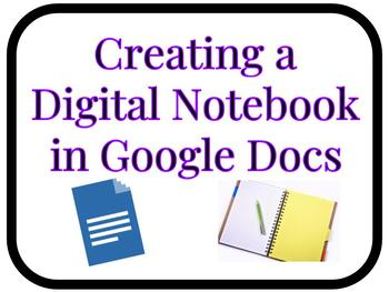 How to Create a Digital Notebook on Google Docs