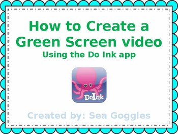 How to Create a Green Screen Video