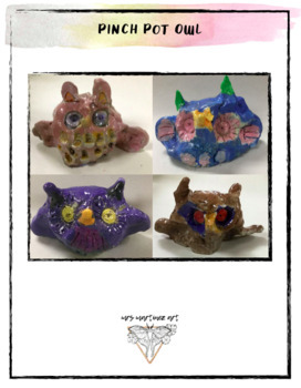 How to Create a Pinch Pot Owl