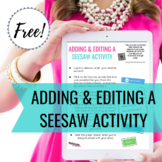 How to Create a Seesaw Activity