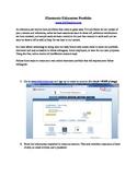 How to Create an Electronic Teacher's Portfolio