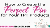 How to Create Vertical + Long Pins for Your TpT Products *Video Tutorial