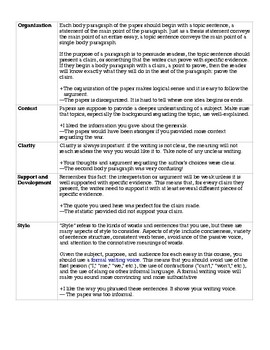 How To Critique Essays Peer Review By Mrtaenglish  Tpt How To Critique Essays Peer Review