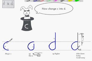 How to Cursive video Letter D