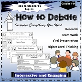How to Debate Teaching Resources and Activities