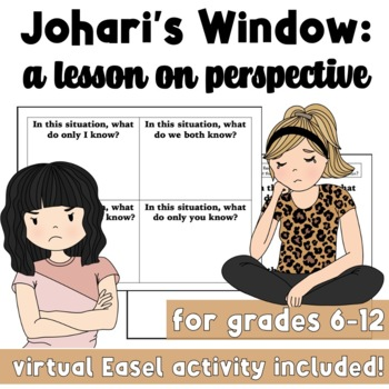 Johari's Window: A Lesson on Perspective