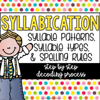How To Decode Syllable Patterns Syllable Types And