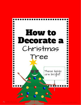 How to Decorate a Christmas Tree Activity and Art Fun!