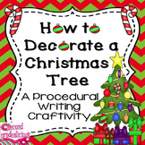Christmas Procedural Writing Activity