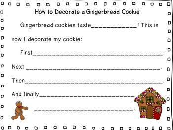 How to Decorate a Gingerbread Cookie/Christmas