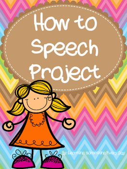 How to/Demonstration Speech