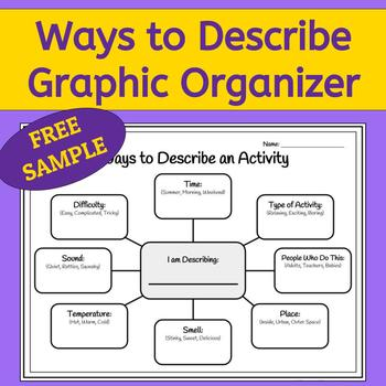 How to Describe: Graphic Organizer