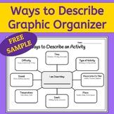 How to Describe: Graphic Organizer