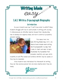 Easy 5-paragraph Biography Lessons (ReadyGen 1.A.3)