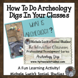 How to Do Archeology Digs in your Classroom for Student En