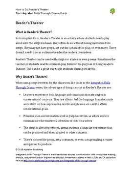 How to Do Reader's Theater