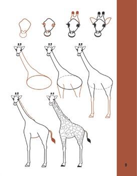 How to Draw 20 Wild Animals (#1)