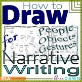 How to Draw People and Objects for Narrative Writing - Directed Drawing