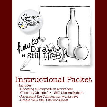 How to Draw: A Still Life (Instructional Packet)