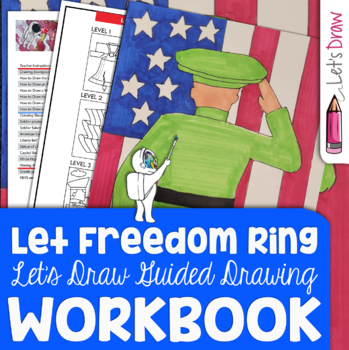 How to Draw American Icons - Memorial Day, President's Day, Veteran's Day