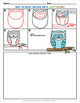 How to Draw An Owl on a Leafy Branch - Directed Drawing