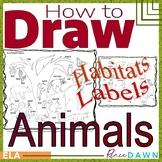 How to Draw Animals BUNDLE