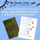 How to Draw Australian Animals - Step-by-Step Elementary A