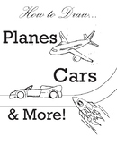 How-to-Draw: Vehicles of land and sky