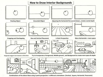 How to Draw Backgrounds