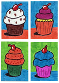 How to Draw Cupcakes
